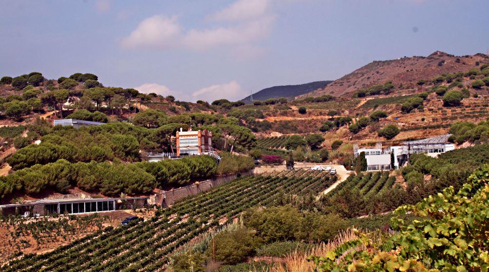 zicht Alta Alella vanaf de kust